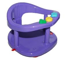 keter baby bath tub ring seat color purple