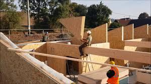 100 Haus Construction Fertighaus Montage Von Holz TEIL 12