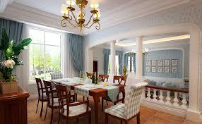 Interior Design Dining Room Villa Mediterranean Style