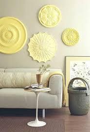 klasse idee für die wand im wohnzimmer die farbkombi grau