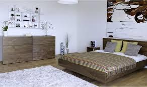 commode chambre à coucher commode large noyer avec 6 tiroirs