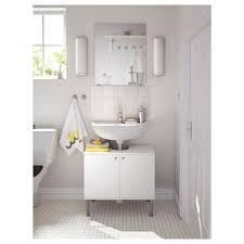 fullen waschbeckenunterschrank 2 türen weiß 60x55 cm