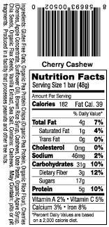 Kutoa Health Bars Cherry Cashew