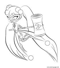 Harley Quinn Coloring Pages Best Coloring Pages