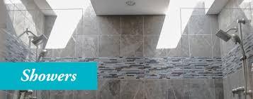 Bathroom Renovation Fairfax Va by Showers Portfolio Bathmasters Masters Of Bathroom Renovation