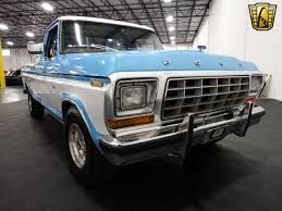 This Blue & White 1979 F-100 Has Aged Gracefully - Ford-Trucks.com Lifted Blue Ford Truck Ford Trucks Only Pinterest The 750 Hp Shelby F150 Super Snake Is Murica In Truck Form Blue Raptor Crew Cab Pickup Hd Wallpaper Drag Race Trucks Picture Of Blue Ford Truck Wheelie Mm Fseries Is A Series Fullsize From The Sema 2017 12 Hot Autonxt 1951 F1 Classics For Sale On Autotrader Just Series 124 Scale Official Off Road 4x4 New 2013 Flame Svt 62l