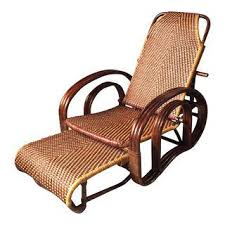 Vintage Banana Rocking Chair by Vintage U0026 Used Rattan Patio And Garden Furniture Chairish