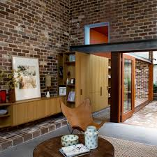 100 Sydney Terrace House David Boyle Extends Terrace With Reclaimed Brick