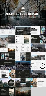 100 The Architecture Company Architectural Presentation Templates Powerpoint Design