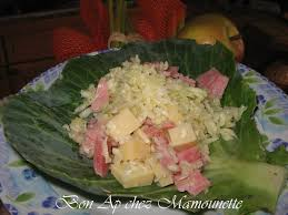 cuisiner le chou blanc en salade salade vendéenne au chou blanc du jardin bon ap chez mamounette