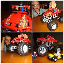 100 Lego Technic Monster Truck My Little Drummer Boys 42005 Giveaway