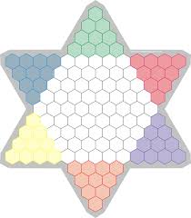 Chinese Checkers Game Board Full