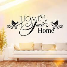 details zu wandtattoo spruch home sweet home zuhause familie wohnzimmer deko wand bild