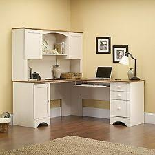 Sauder Harbor View Computer Desk Salt Oak by Sauder Computer Desks Ebay