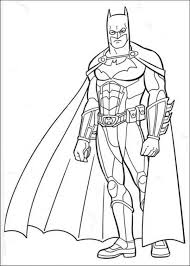 Batman Dark Knight Rises Coloring Pages