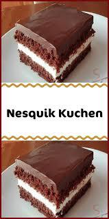 nesquik kuchen in 2020 kuchen und torten rezepte kuchen