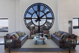 striking wall clocks can give your home a timeless and dynamic