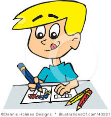 Coloring Clip Art For Kids