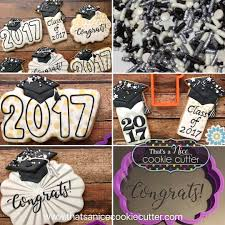 Graduation Table Decorations To Make by How To Make Graduation Cap Cookies Royal Icing Stenciling And Cap