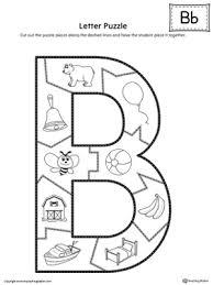 Letter B Puzzle Printable