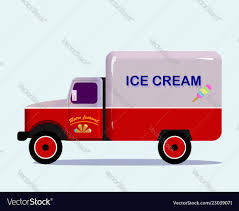 Ice Cream Truck Royalty Free Vector Image - VectorStock