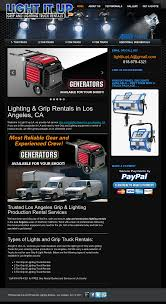 100 Grip Truck Rental Light It Up And Lighting S Competitors Revenue And