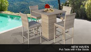 TK Classics NEWHAVEN-PUB-WITHBACK-4 New Haven Pub Table Set ... Details About Barbados Pub Table Set W Barstools 5 Piece Outdoor Patio Espresso High End And Chairs Tablespoon Teaspoon Bar Glamorous Rustic Sets 25 39701 156225 Xmlservingcom Ikayaa Modern 3pcs With 2 Indoor Bistro Amazoncom Tk Classics Venicepubkit4 Venice Lagunapubkit4 Laguna Fniture Awesome Slatted Teak Design With Stool Rattan Bar Sets Video And Photos Madlonsbigbearcom Hospality Rattan Soho Woven Pin By Elizabeth Killian On Deck Wicker Stools