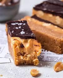 vegane snickers bars