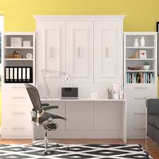 Murphy Bed Office Desk Combo by Wall Beds Costco