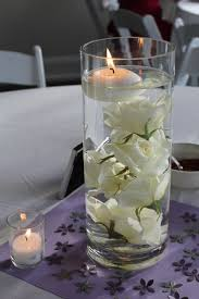 175 best Submerged flowers with floating candles images on Pinterest