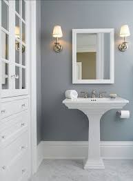 Best Paint Color For Bathroom Cabinets by Best 25 Blue Gray Bathrooms Ideas On Pinterest Blue Gray Paint