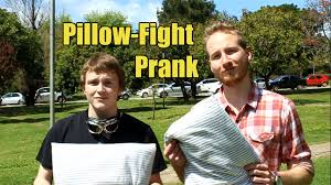 Rhodes University Pillow Fight Prank