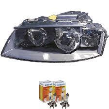 headlight right for audi a3 8p built 03 08 bosch h7 h7 incl