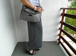 Grey Bag From Gamiss - SweetStyle