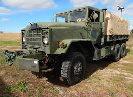 100 Military Truck Auction 1984 Am General M925 Military Truck Item B5933 SOLD Nov
