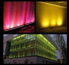 color rgbw led exterior building outdoor lights bar mini
