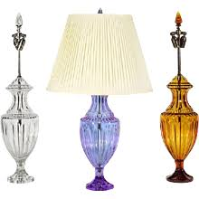 Crystal Table Lamp Finials by Decor Decorative Lamps U0026 Art Lights