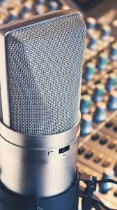 Recording Studio Microphone Android Wallpaper