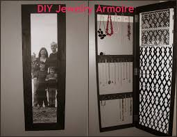 Mirrored Jewelry Box Armoire by Diy Standing Mirror Jewelry Armoire Crowdbuild For