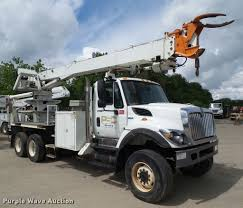 2009 International 7400 Digger Derrick Truck | Item L5580 | ...