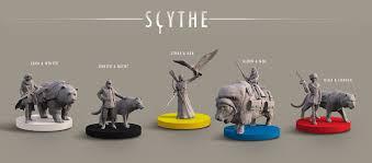 Scythe Board Game Miniatures