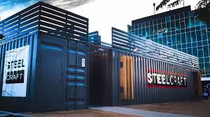 100 Container Building Steelcraft Shipping Mall IPME