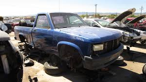 Junkyard Find: 1995 Dodge Dakota, With K-Car Engine - The Truth ...
