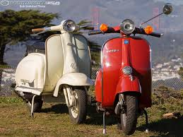 Vintage Scooter Test Vespa Vs Lambretta