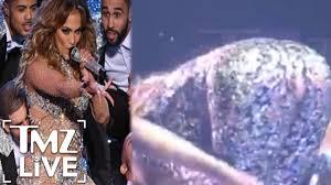 Jennifer Lopez Wardrobe Malfunction In Vegas