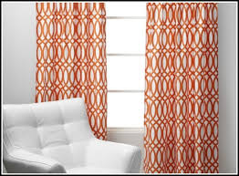 Grey And White Chevron Curtains by Orange And White Curtains Curtains Ideas