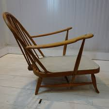 1960s Ercol Blonde Lounge Chair
