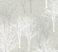 as creation vliestapete elegance 5th avenue wald bäume beige tapete 361474