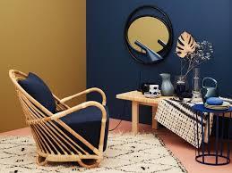 senfgelb mit dunkelblau kombinieren bild 10 schöner wohnen