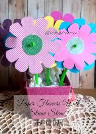 Paper Flower Craft Ideas